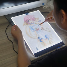Ultrathin A4 LED Light Drawing Tablet Pad 3-level Dimming Diamond Painting Copy Electronic Art Graphic Writing