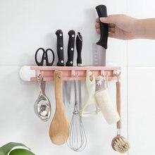 6 крючков Многофункциональные кухонные шесть без штамповки и