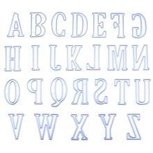 26pcs 5CM Large Big A-Z Alphabet Letters Metal Cutting Dies Stencils for DIY Scrapbooking 2019 New