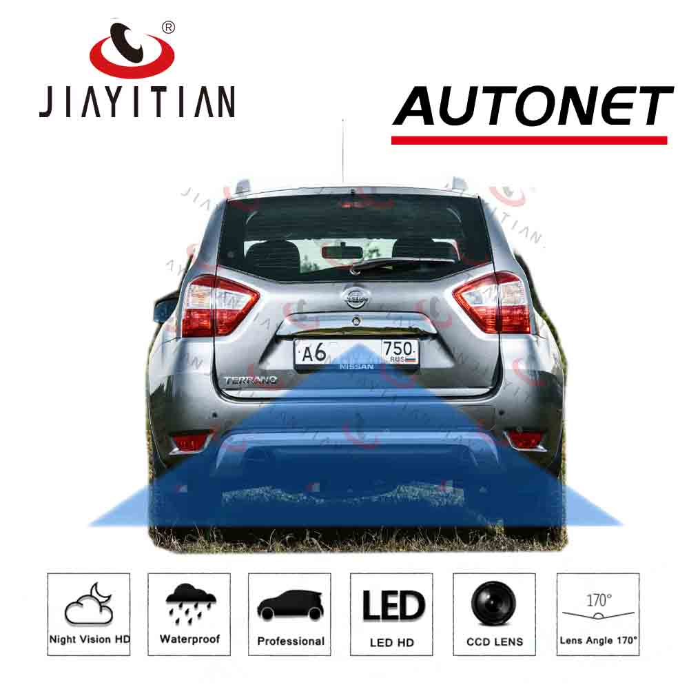JIAYITIAN Rear View Camera For nissan terrano R52 2013 2014 2015 2017~2019 HD CCD/Night Vision/Backup Reverse parking Camera|Vehicle Camera| |  - title=