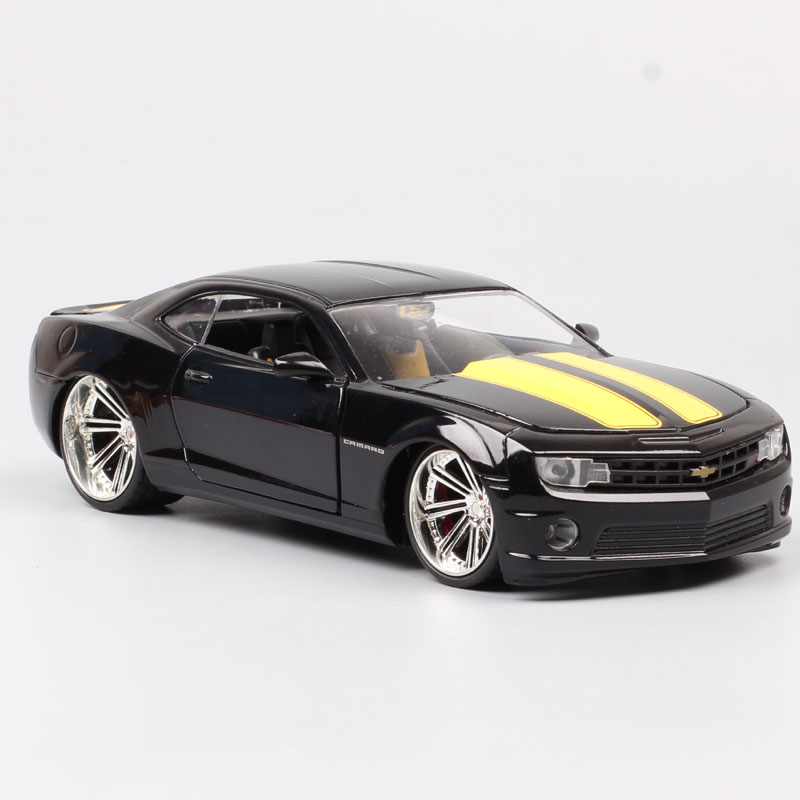 Childs Jada 1/24 Scales Car GM Chevrolet Camaro SS 2010 GM Sports Muscle Metal Diecasts & Toy Vehicles Car Models Of Collection