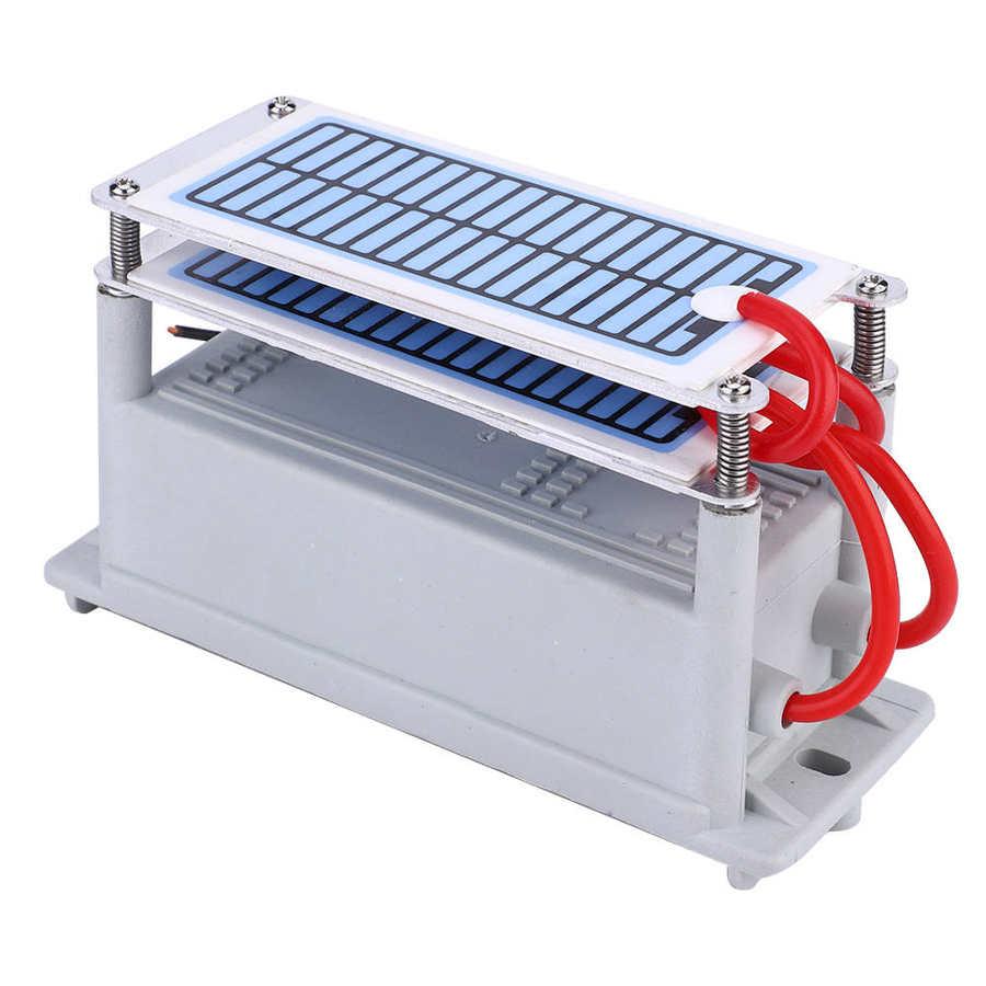 Generador de ozono integrado, purificador de olor, purificador ozonizador 24g Generador de ozono para aire 30g 50 g/h 110/220V, purificador de aire, esterilizador, ozonizador, portátil, esterilizador con interruptor de sincronización
