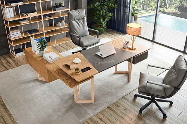 Modern Simple Design Home Desks Office Furniture Set Laptop Study Table Furniture Executive Wood Leather Standing Desk Desktop Aliexpress