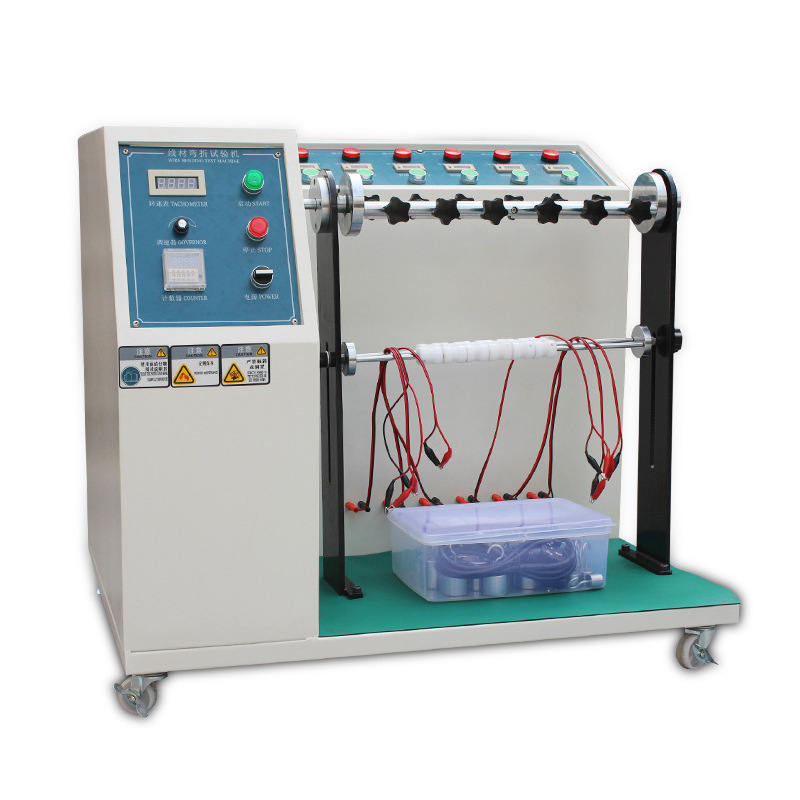 Wire Rolling Tester Plug Lead Bending Test Wire Rolling Tester Wire Life Test