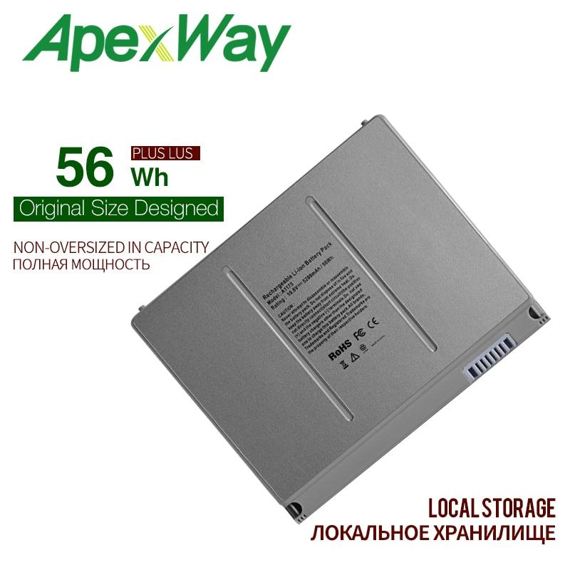56WH Battery For font b Apple b font font b MacBook b font Pro 15 A1150