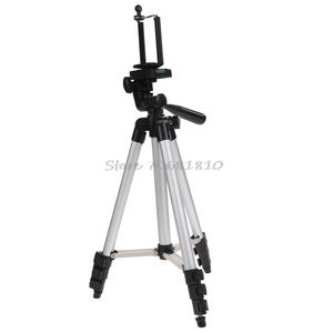 Image 2 - Professional Camera Tripod Stand Holder Mount For iPhone Samsung Cell Phone +Bag