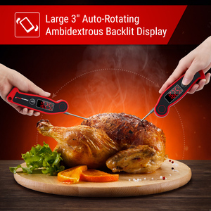 Image 4 - Термометр ThermoPro TP19 цифровой для мгновенного быстрого считывания мяса, водонепроницаемый термометр для барбекю