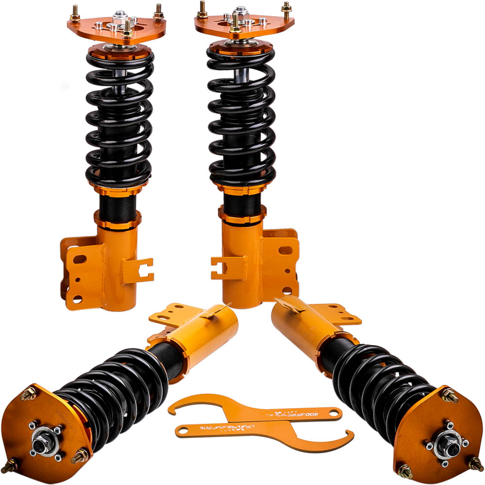 Adj Height Coilovers Struts for Subaru Forester 1998-2002 2.5L Shocks Absorbers