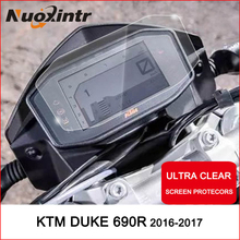 Moto кластера защитой от царапин защитная пленка для приборной панели крышка предохранителя Blu-Ray для KTM Duke R 690 790 1290