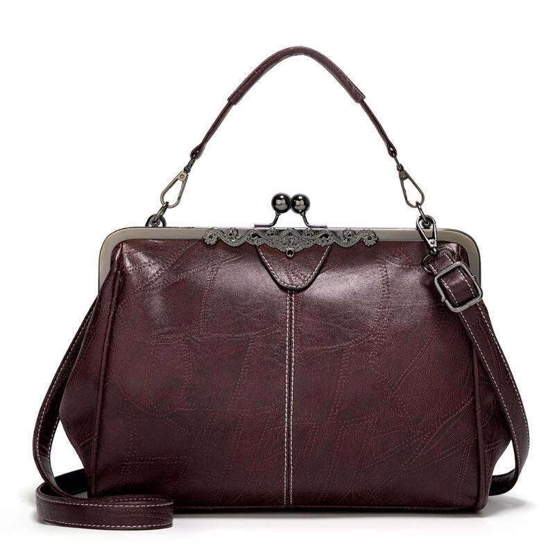 Sacs à main en cuir Vintage marque espagnole fourre-tout de haute qualité  femmes sac décontracté femme en cuir PU sac médecins sacs à bandoulière  pour ...