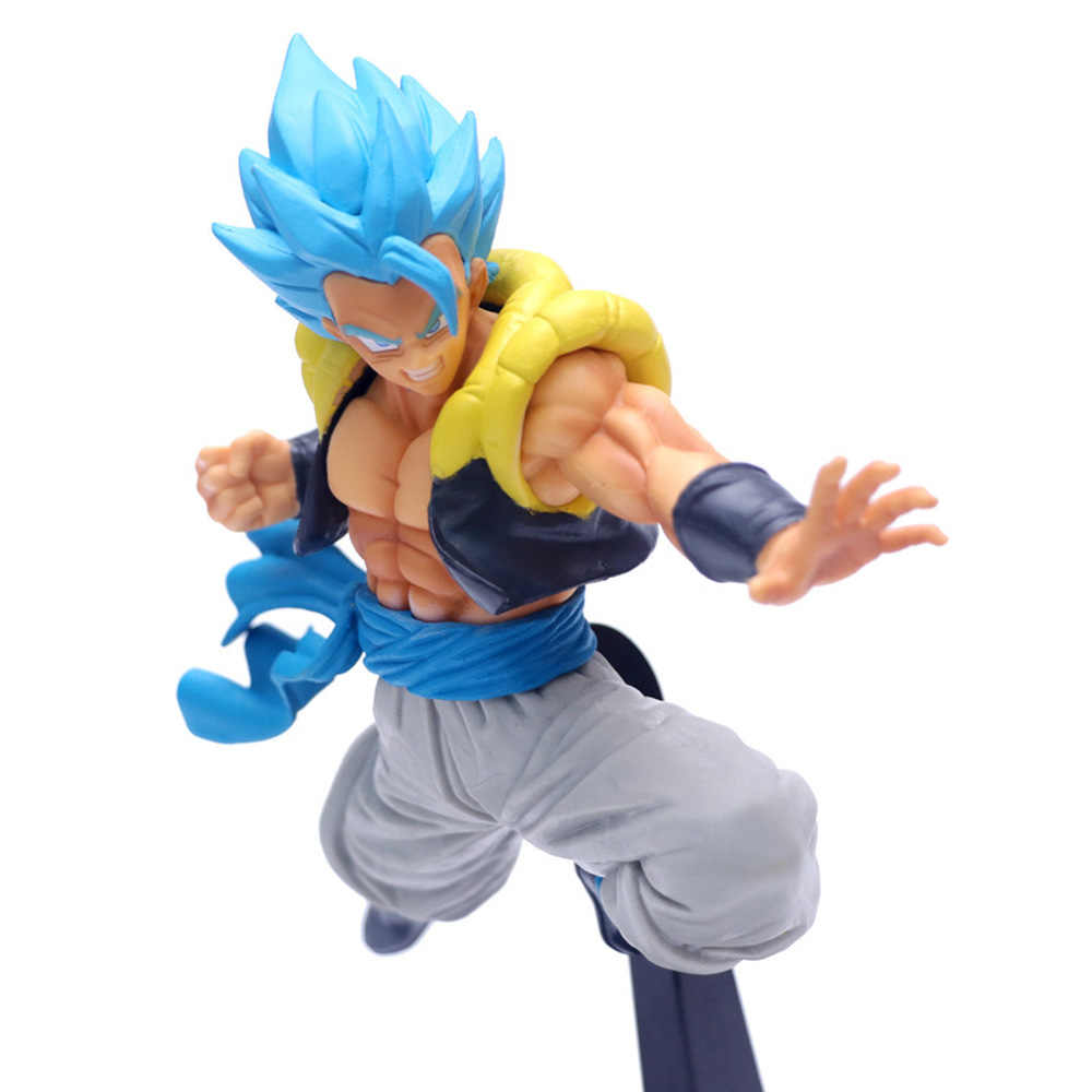 2019 Dragon Ball Z Gogeta Ultimate Soldier Movie Ver. VS Super Broly Battle PVC Action Figure Collection Toys 23cm S05#43
