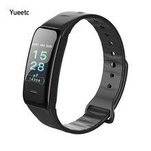 купить B1 Bluetooth smart watch heart rate blood pressure blood oxygen health pedometer sports Fitness Bracelet  band wristband дешево