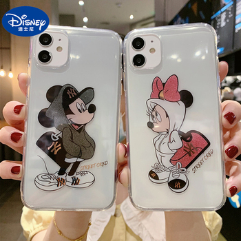 Disney Mobile Phone Cases for IPhone X/XS/XR/XS Max 7/8/ Plus/ 12/12pro Mickey Minnie Phone Case Car