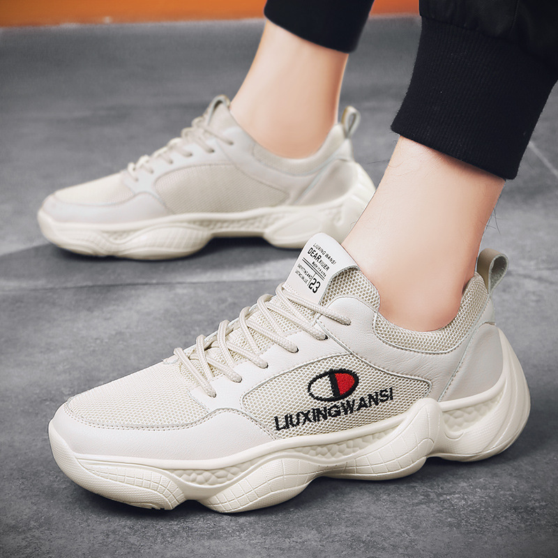2019 Spring New Style INS Coconut Shoes Old Man Shoes Casual Sports Shoes Running Shoes Mesh Shoes MEN'S SHOES 2398