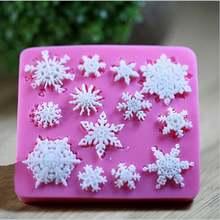 Снежинка силиконовая форма для торта с мастикой мыла шоколада