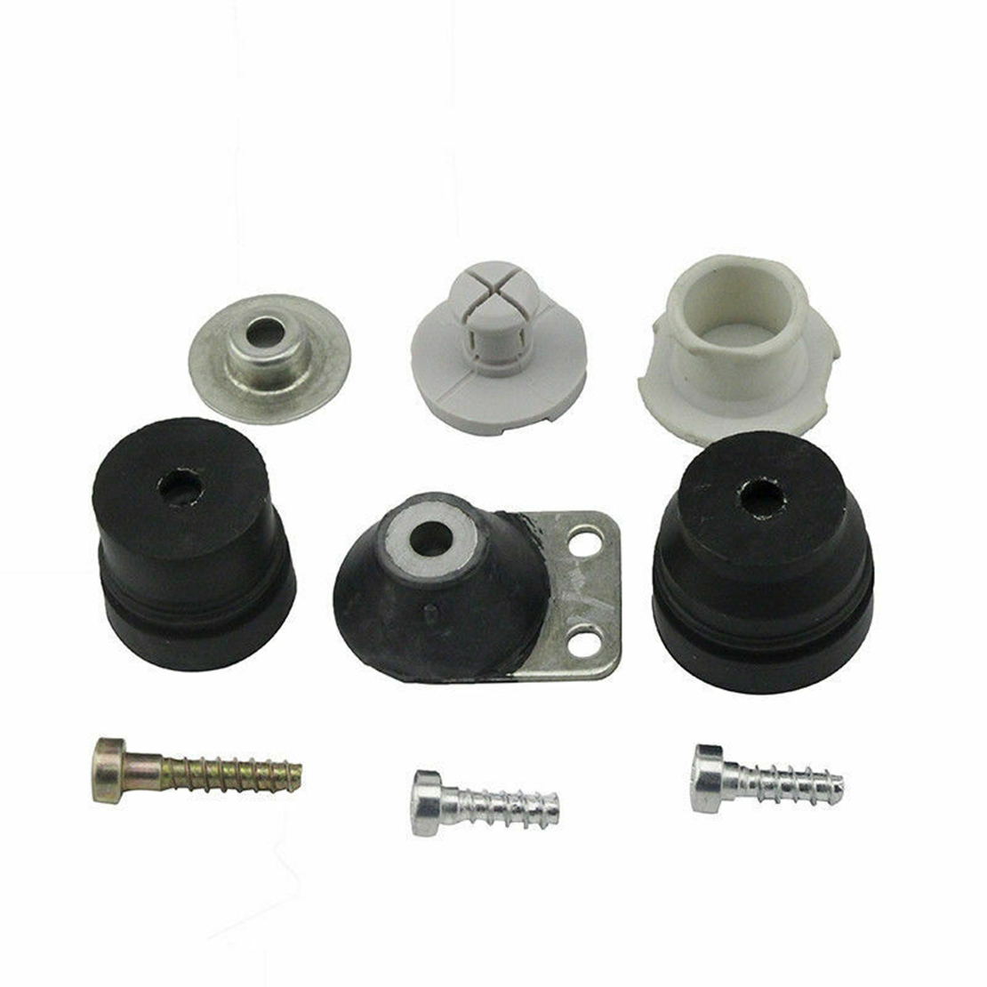 1121 790 9912 Anti-Vibration Buffer Set Screw Plug Cap Mount Kit 1121 790 9909 Fit for Stihl 026 024 MS240 MS260 Chainsaw