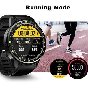 Image 3 - F1スマート腕時計メンズsimカードスポーツスマートウォッチgpsサポート歩数計のbluetooth 4.0カメラ腕時計女性iosのandroid携帯