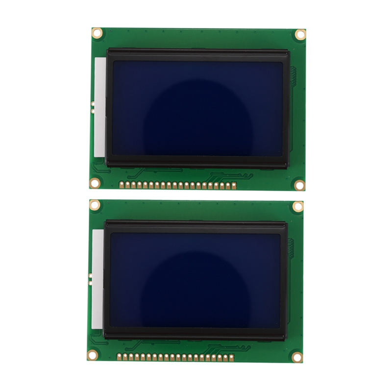 128x64 DOTS LCD Module 5V Blue Screen 12864 LCD With Backlight ST7920 Parallel Port LCD12864