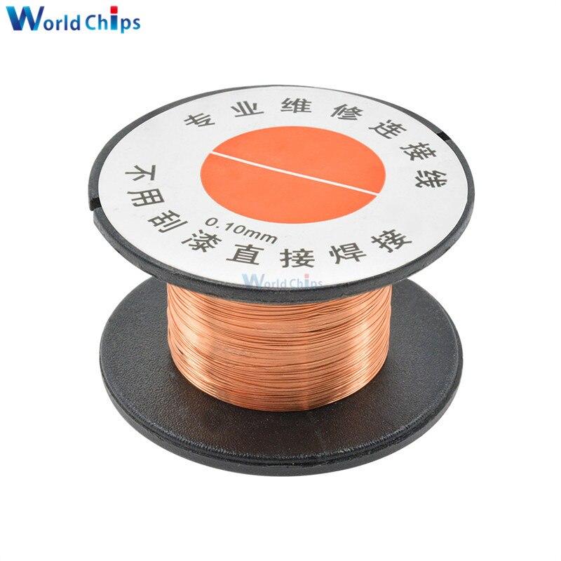 0.1mm Copper Solder Soldering PPA Enamelled Reel Wire