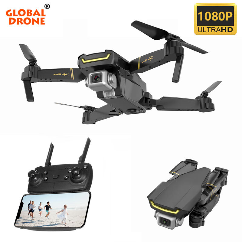 Global Drone GW89 WIFI FPV With HD 1080P Camera Dropship RC Helicopter Toys For Kids Quadcopter Drone X Pro RTF Dron VS E58 E520
