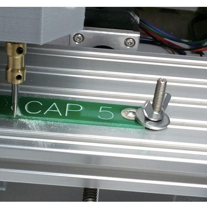 CNC 1610 GRBL control DIY mini CNC maschine arbeits bereich 160x 100 x45mm 3 Achse Pcb Fräsen maschine, holz Router, cnc router v2.4