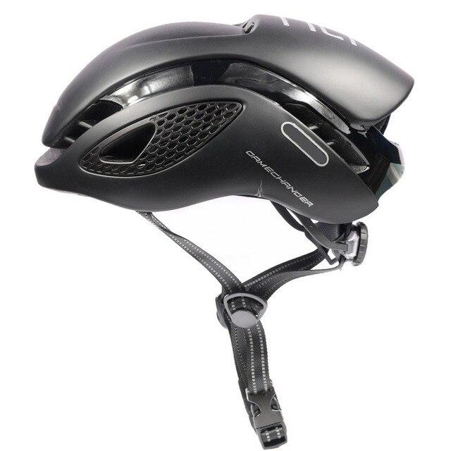 Jogo da marca capacete de bicicleta estrada capacete ciclismo mtb men aero sport cap tld wilier radare tamanho m 54 54 60cm d 6