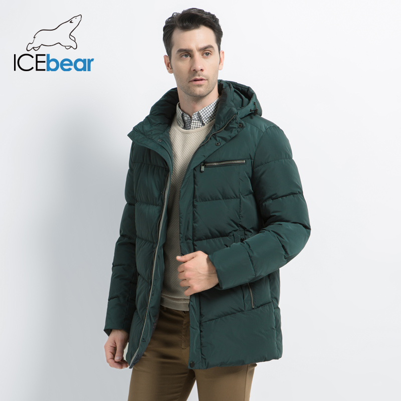 2019 New Men's Winter Coat High Quality Man Jacket Fashion Men's Clothing Warm Male   Parka   MWD19835D
