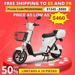 BENOD Lithium Battery Scooter CE Certification Electric Motorcycle 48V Electric Motocicleta 50KM Eléctrica Motor Moped