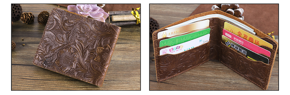 Cheap leather wallet