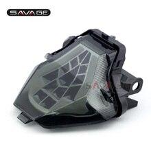 LED YAMAHA MT 07 FZ 07 14 17, MT 25 MT 03 YZF R3 R25 2014 2020 entegre led arka lambası dönüş sinyali gösterge motosiklet B