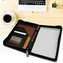 А5 Папка из искусственной кожи, бизнес-папка, менеджер, многофункциональный офисный органайзер, планировщик, блокнот, школьная офисная папка для деловых встреч
