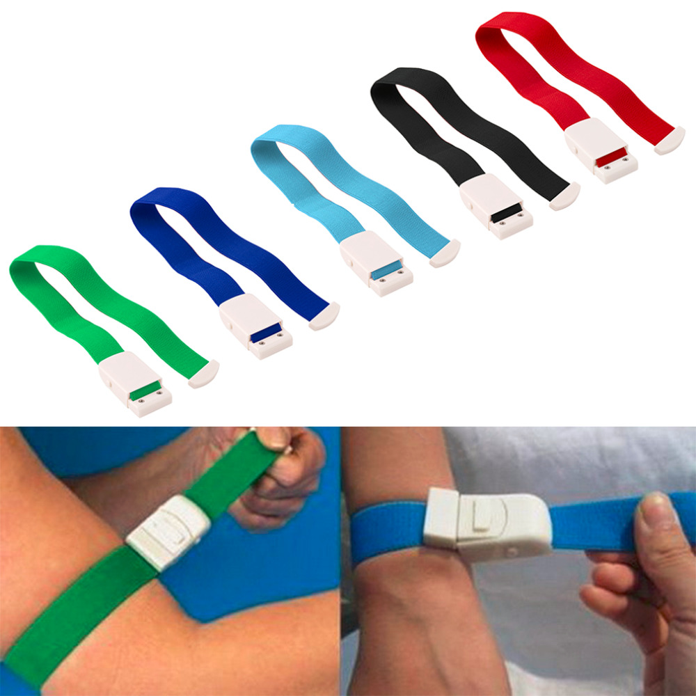 1pc Quick Slow Release Medical Paramedic Sport Emergency Tourniquet Buckle 2.4*40cm Plastic ABS Tourniquet Free Shipping