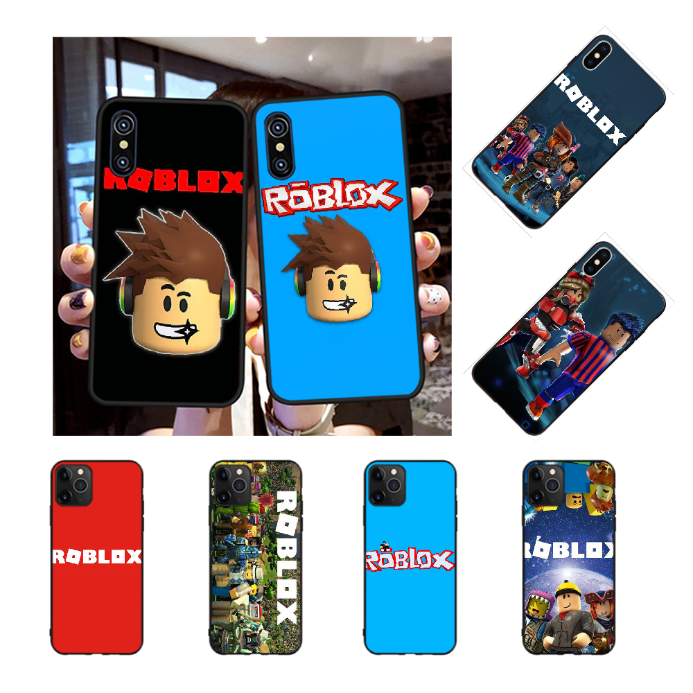 NBDRUICAI Popular Game Roblox DIY Printing Phone Case cover Shell for iPhone 11 pro XS MAX 8 7 6 6S Plus X 5S SE XR case