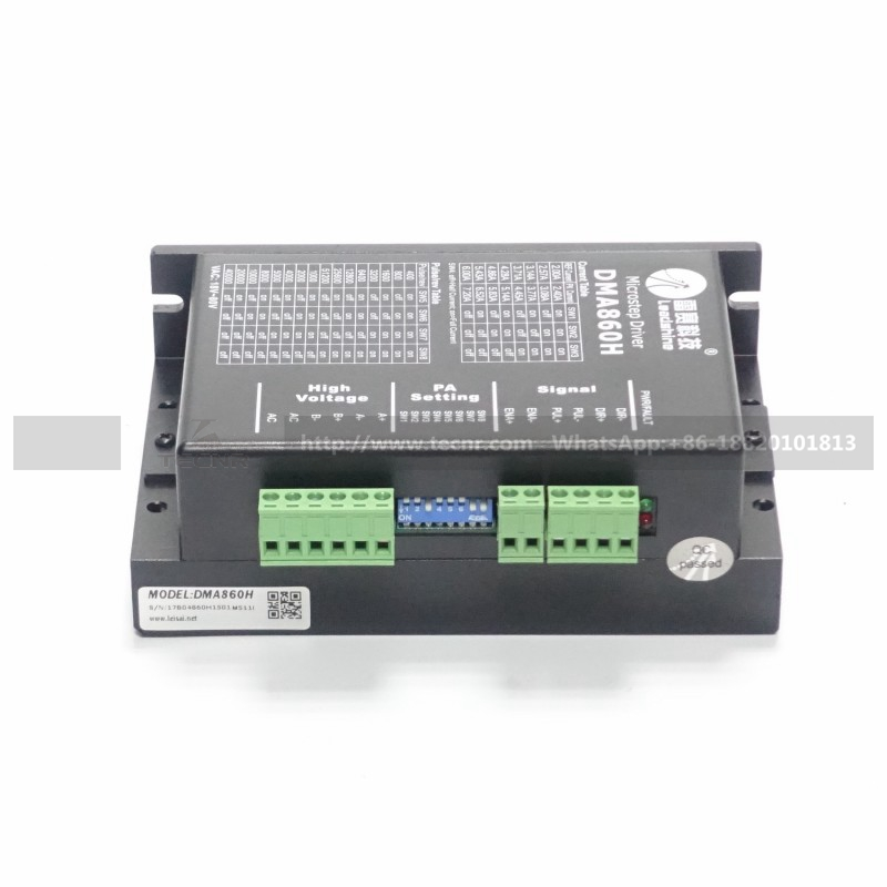 3 piezas Leadshine DMA860H controlador de motor paso a paso DC 24-80V - Piezas para maquinas de carpinteria - foto 2
