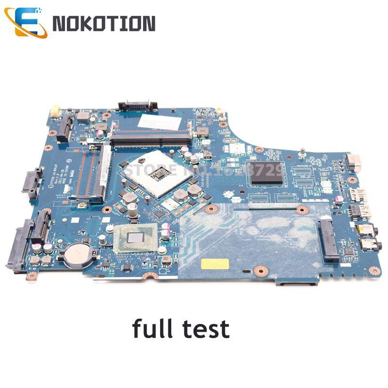 NOKOTION Laptop Motherboard For Acer Aspire 7750 7750Z P7YE0 LA-6911P MBRN802001 MB.RN802.001 MAIN BOARD HM65 DDR3