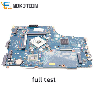 Image 1 - NOKOTION Laptop motherboard For Acer aspire 7750 7750Z P7YE0 LA 6911P MBRN802001 MB.RN802.001 MAIN BOARD HM65 DDR3