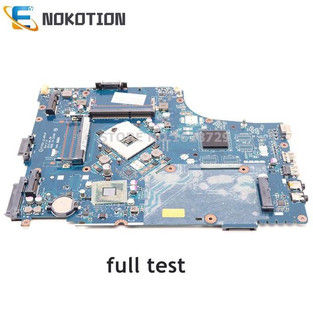 NOKOTION Laptop motherboard For Acer aspire 7750 7750Z P7YE0 LA 6911P MBRN802001 MB.RN802.001 MAIN BOARD HM65 DDR3