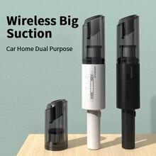 Handheld Wireless Staubsauger Leistungsstarke Saug Wiederaufladbare Auto Auto Staubsauger Tragbare Aspirador für Auto Hause Haustier Haar