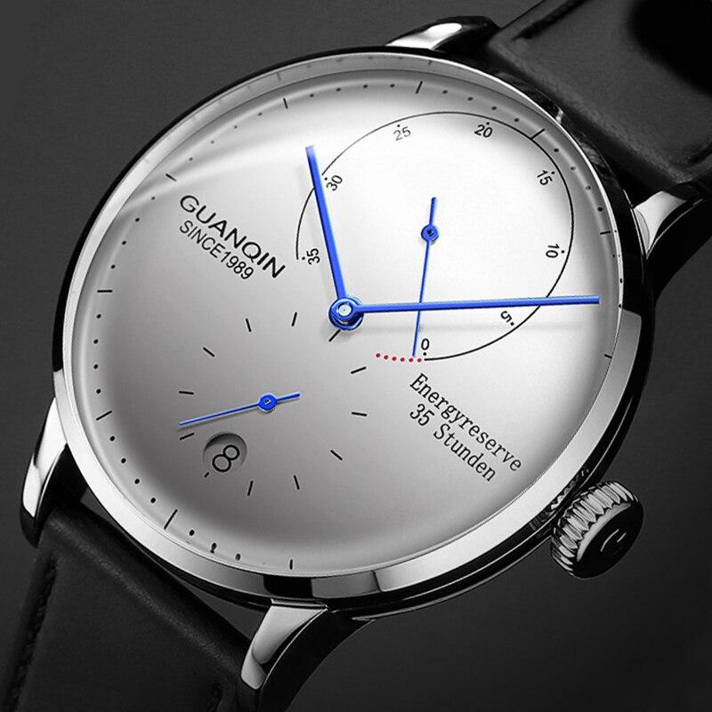 GUANQIN Mechanical Watch Men Business Fashion Automatic Watches 316L stainless steel Top Brand Luxury Luminous Wristwatch Clock|Mechanical Watches| - AliExpress