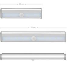 Wardrobe Motion-Sensor Kitchen LED PIR with Adhesives-Sticker Led-Lamp for Cupboard Closet