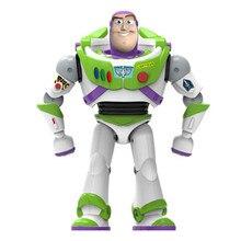 Neue Spielzeug Geschichte 4 Buzz Lightyear Können Walking Glowing Englisch Songs Action Figur Modell Kinder Sammlung Geschenke