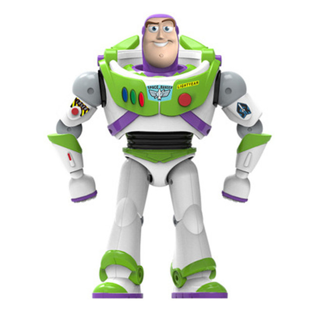 New Toy Story 4 Buzz Lightyear Can Walking Glowing English Songs Action Figure Model Children Collection Gifts