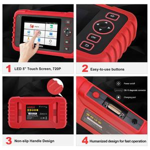 Image 3 - LAUNCH X431 CRP129X OBD2 Scanner OBDII Automotive Auto Code Reader OBD Diagnostic Tool ABS SRS Transmission Engine Oil/EPB/TPMS