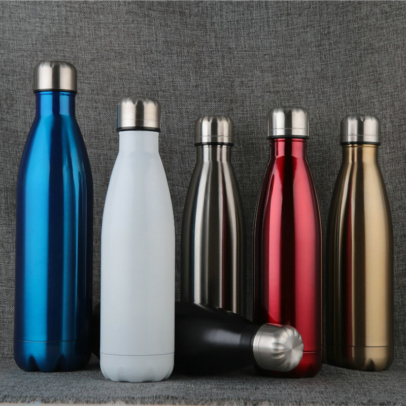 750ML 1000ML Double Wall Vacuum Stainless Steel Insulated Water Bottles with custom logo|Water Bottles| |  - AliExpress