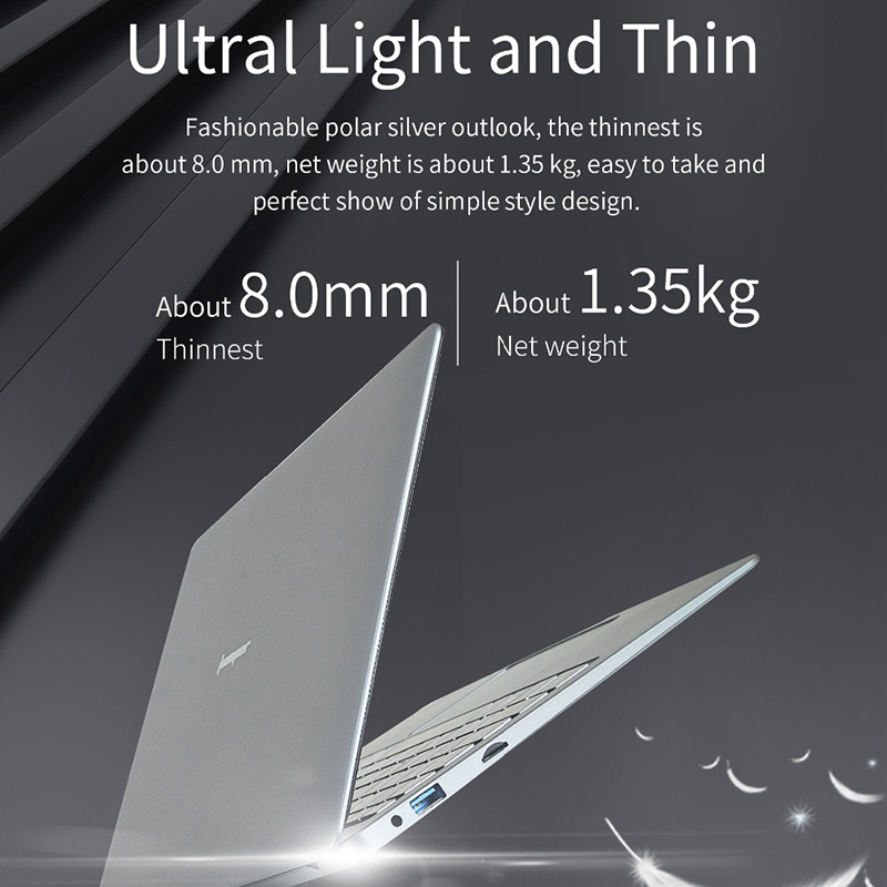 Jumper Ezbook X3 13.3 Inch Ips Screen Laptop Intel N3350 6Gb 64Gb Emmc 2.4G/5G Wifi Notebook with M.2 Sata Ssd Slot