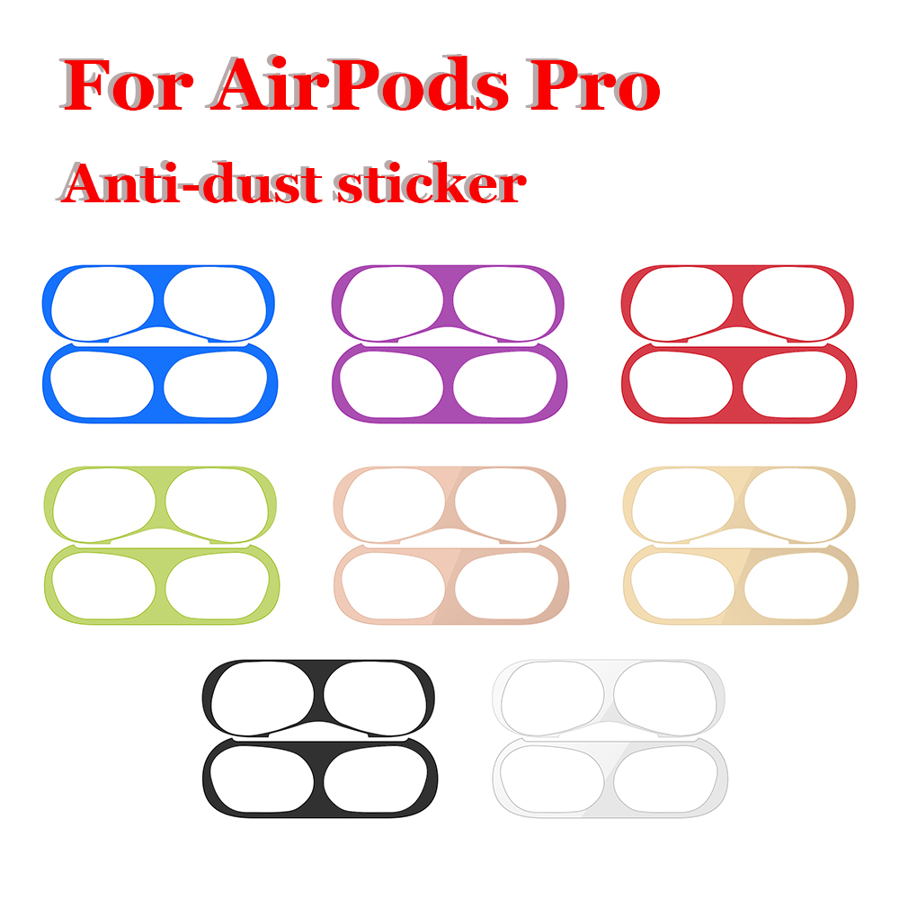 Dustproof Sticker Guard For Apple AirPods Pro Earphone Case Protective Sticker For AirPods Pro Cute Pattern Sticker Accessories