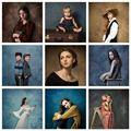 Avezano абстрактный градиент гранж однотонные Цвет для портретной фотографии фон Свадебные Декорации для фотостудии Фотофон реквизит