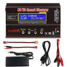 Imax b6 v3 80w 6a carregador de bateria lipo nimh li-ion ni-cd digital rc carregador lipro balance carregador descarregador + 15v 6a adaptador