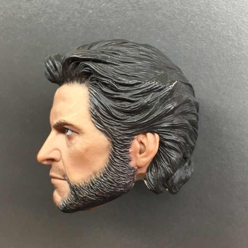 "1:6 Male Head Sculpt Wolverine Hugh Jackman Model Carved F 12/"" Male Action Body"