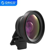 ORICO Universal Mobile Phone Lens 2 in 1 0.6X/0.45X Wide Angle Lens with Clip 37mm Thread 12.5X/15X Macro HD Mobile Phone Lens